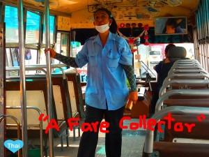 Thailand Bus Fare Collector   LoveThaiMaak.com
