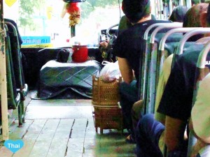 Thailand Local Lives On A Bus | LoveThaiMaak