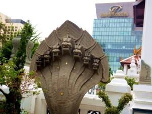 Bangkok Hidden Jem: Pathum Wanaram Temple Snake Things to do in Bangkok