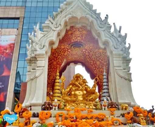 Ganesha Shrine: Things to do in Bangkok with Love Thai maak