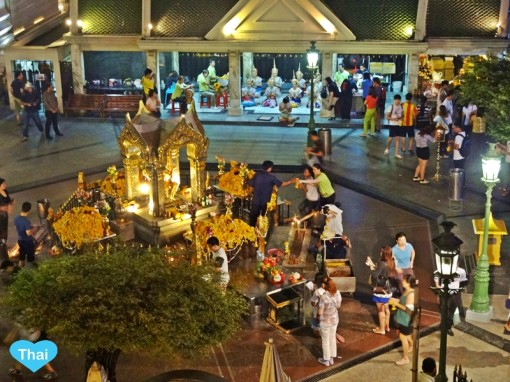 Erawan Shrine : Things to do in Bangkok with Love Thai Maak