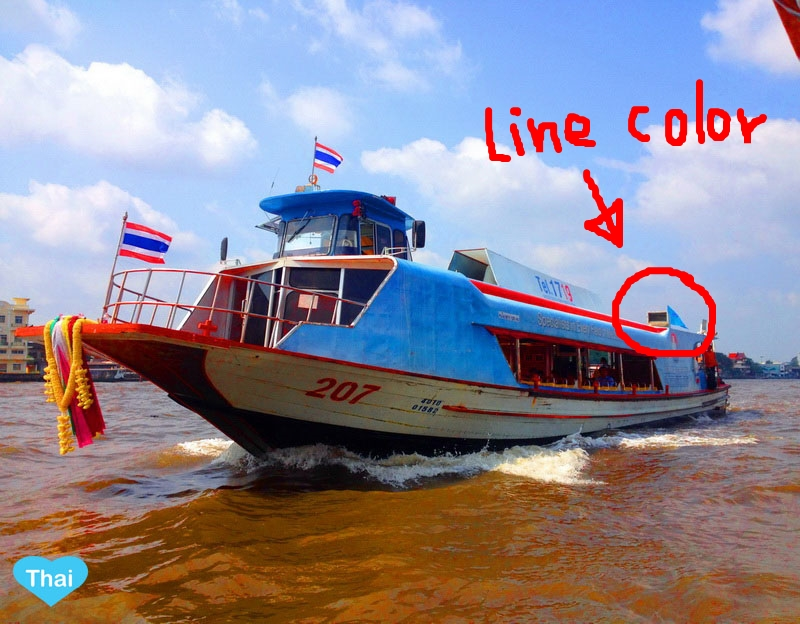 Bangkok water transportation the way to travel in thailand