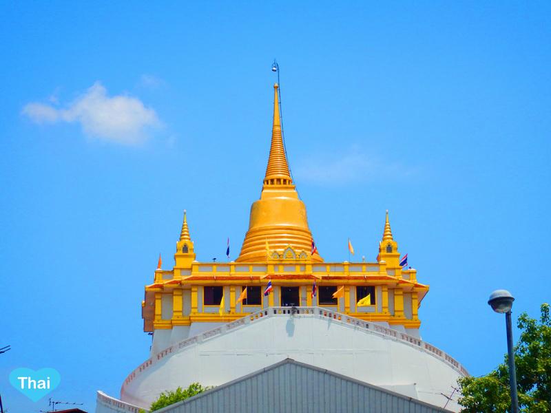 Things to do in Bangkok top of Golden Mountain