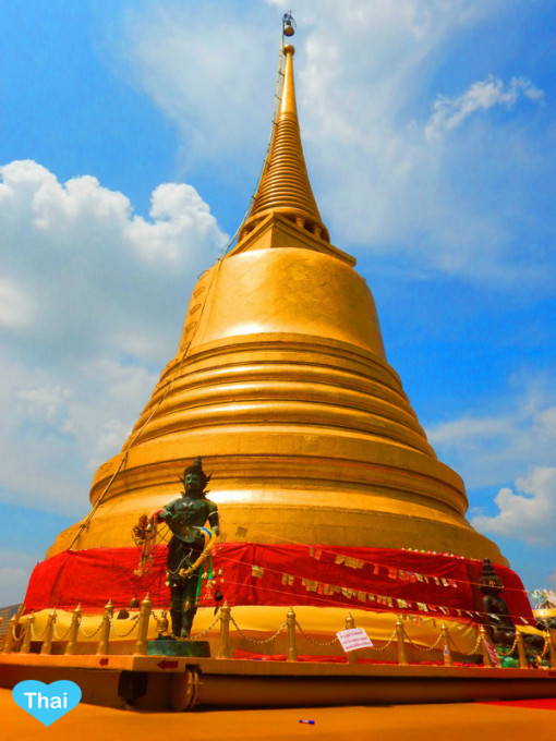 Things To Do In Thailand Pagoda On Golden Mountain