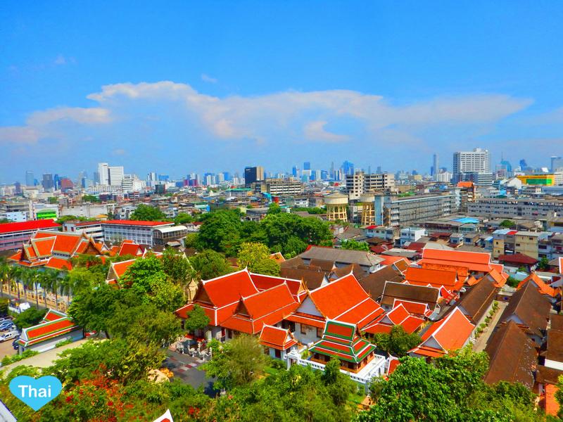 Things To Do In Bangkok Golden Mountain Top View