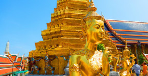 Wat Pra Keaw: The Grand Palace Amazing Golden Temple