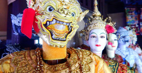 Things to do in Bankok with Love Thai Maak Baan Silapin Artist House Marionette Close Up