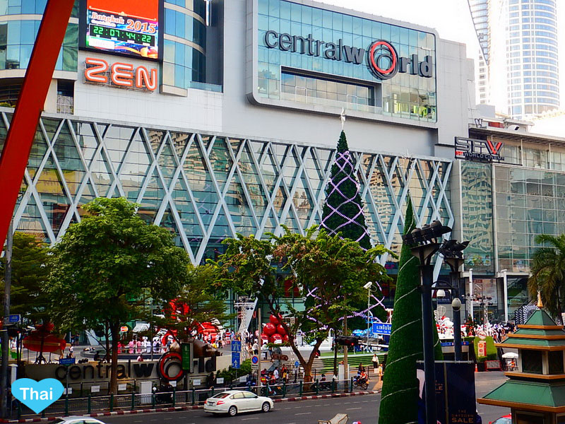 Things to do in Bangkok | Love Thai Maak Christmas in Central World Rachaprasong day time