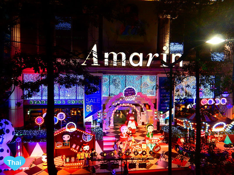 Things to do in Bangkok | Love Thai Maak Christmas in Central World Rachaprasong Front of Amarin plaza
