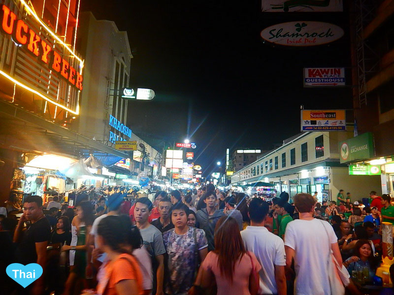 Bangkok Countdown Spots For New Year 2015 | Khaosan Road International Destination