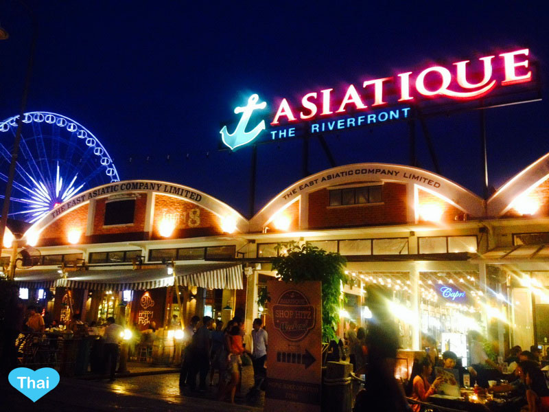Bangkok Countdown Spots For New Year 2015 | Asiatique by Chaopraya River