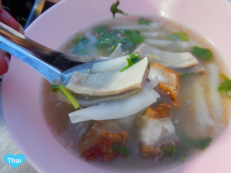 The Super Kuay Jab in Bangkok | Things to eat in Thailand by Love Thai Maak Exotic alert pork stomach