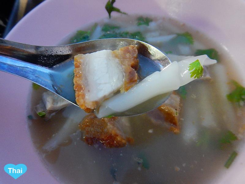 The Super Kuay Jab in Bangkok | Things to eat in Thailand by Love Thai Maak Crispy pork