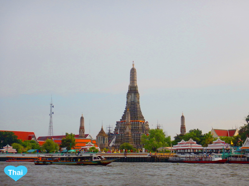 Things to do in Bangkok Wat Arun across the Chaopraya River by Love Thai Maak