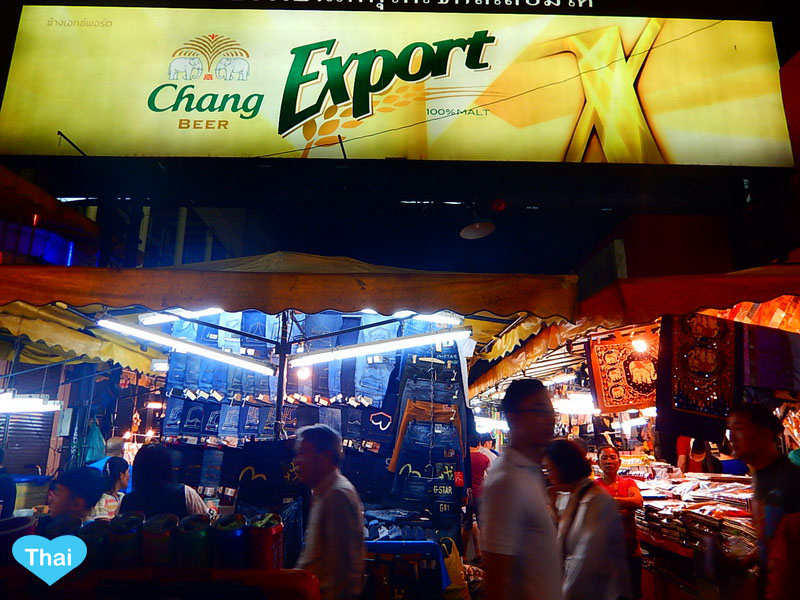 things to do in bangkok night market in Patpong and Silom Area | Love Thai Maak