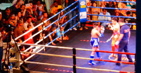 Things to do in Bangkok by Love Thai Maak | Free Muay Thai at MBK Fight Night kid's match to adult match
