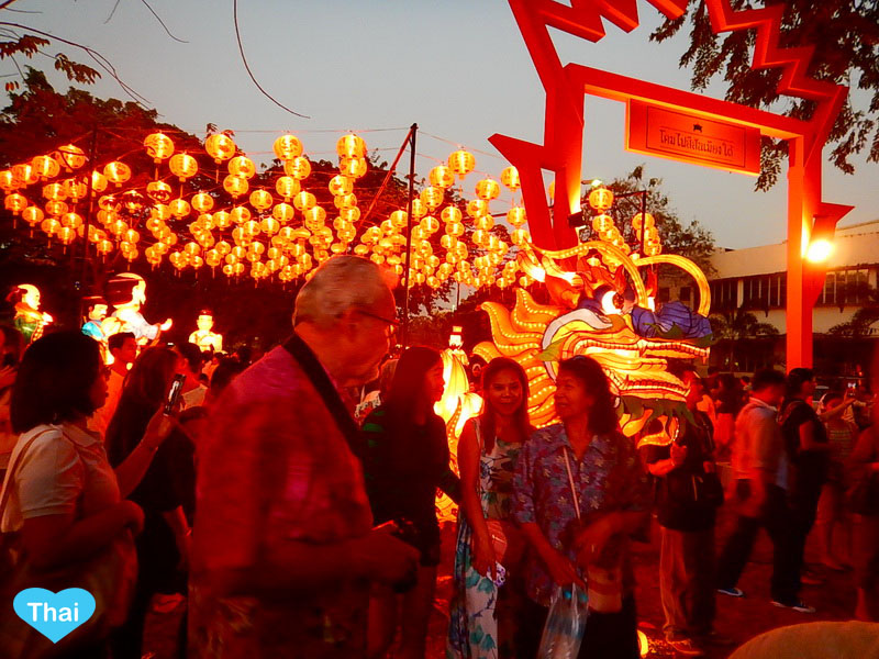 Chinese New Year Celebration in Thailand | Love Thai Maak visitors celebrating Chinese new year in the land of smile