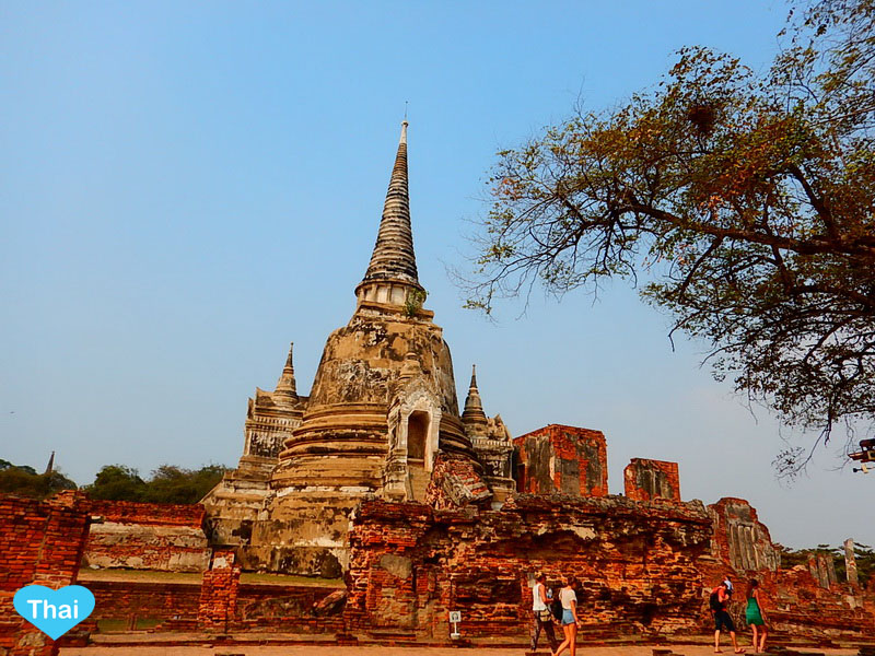 Travel to Ayutthaya from Bangkok | Love Thai Maak Old Temple