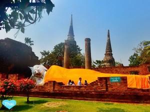 Travel to Ayutthaya from Bangkok | Love Thai Maak Reclining Buddha
