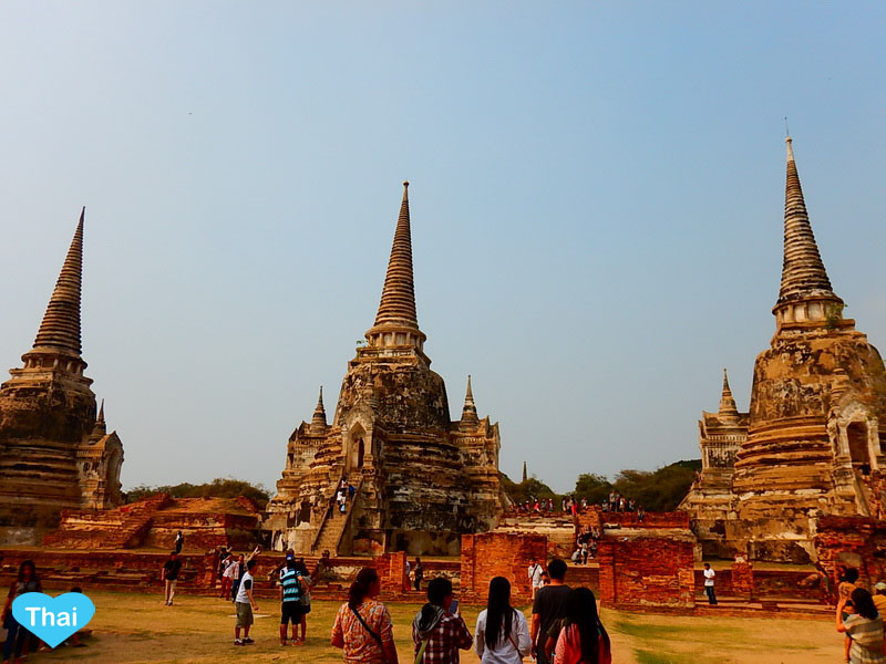 Love Thai Maak Travel To 5 Must Go Temples In Ayutthaya Wat Phra Si Sanphet