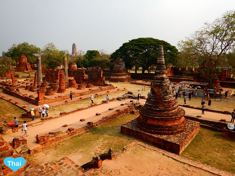 Love Thai Maak Travel To 5 Must Go Temples In Ayutthaya Cover Old Temple Photo Ending Of The Tourism Article