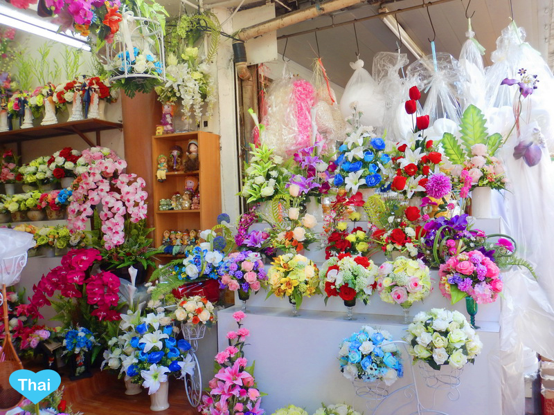 Things To Do In Thailand: Bangkok's Biggest Flower Market Pak Khlong Talat Modern Thai Flower Products
