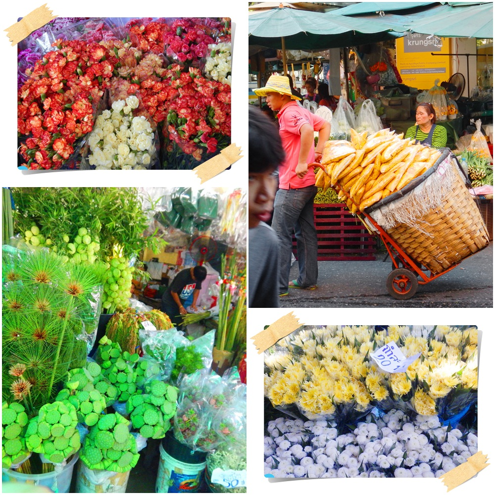 Bangkok Flower Market Pak Khlong Talat 5 Photo Paradises in Bangkok for Travel Photography | Love Thai Maak
