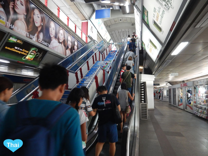 9 Things you should know before Taking Bangkok Skytrain (BTS) and Bangkok's Subway (MRT) Keep right for standing keep left for walking