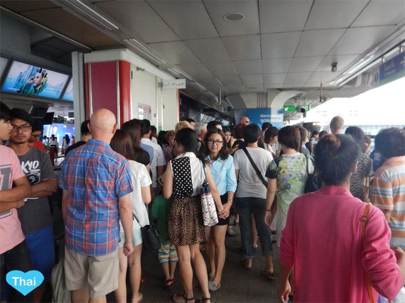 9 Things you should know before Taking Bangkok Skytrain (BTS) and Bangkok's Subway (MRT) Avoid Bangkok rush hours
