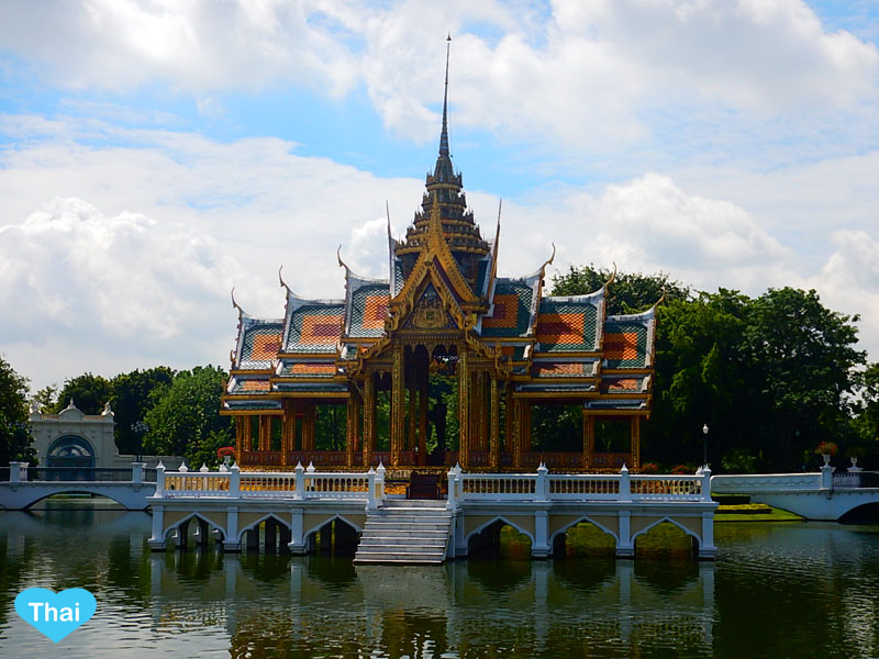 Love Thai Maak | Ayutthaya Treasure: The Summer Palace (BANG PA-IN Palace) Phra Thinang Aisawan Thipya-Art