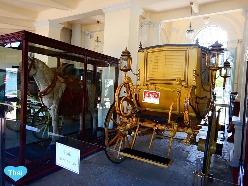Love Thai Maak | Ayutthaya Treasure: The Summer Palace (BANG PA-IN Palace)  Tevaraj-Kanlai Gate  Horse Carriage Museum