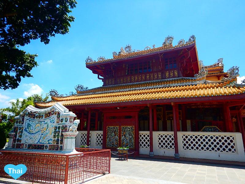 Love Thai Maak | Ayutthaya Treasure: The Summer Palace (BANG PA-IN Palace)  Phra Thinang Wehart Chamrun