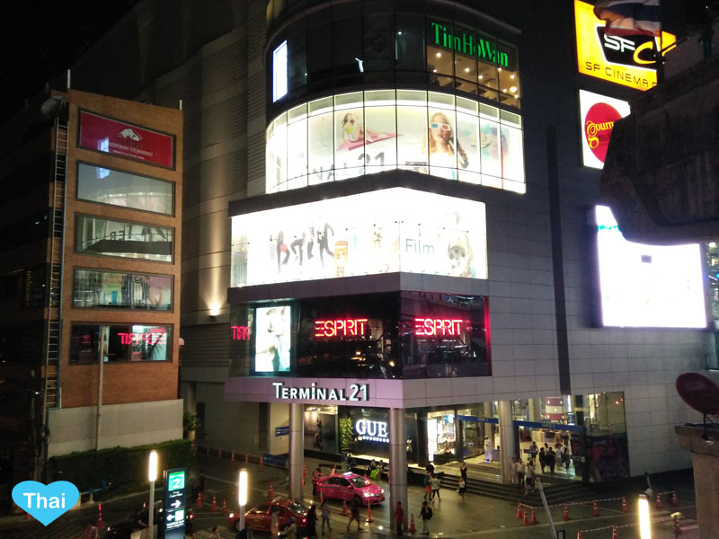 Love Thai Maak | Bangkok for Shopping Lovers: 7 Big Shopping Centers Right by BTS Stations - Terminal 21